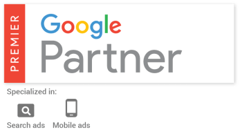 Google Premier Partner Enrollment Resources specialized is search ads and mobile ads