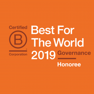 Enrollment Resources honored with 2019 Best For The World: Governance