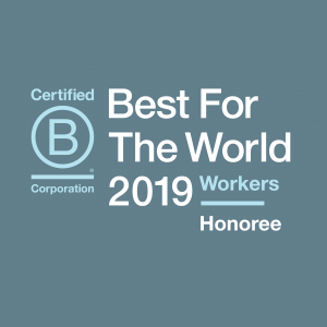 Enrollment Resources honored with 2019 Best For The World: Workers