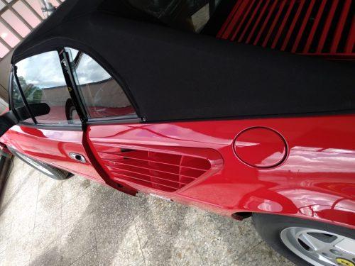 Restauracion Ferrari Mondial pulido 5