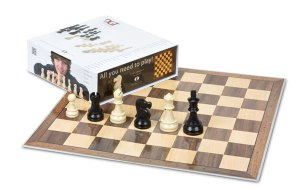 10874 DGT Chess Starter Box Grey (contents)