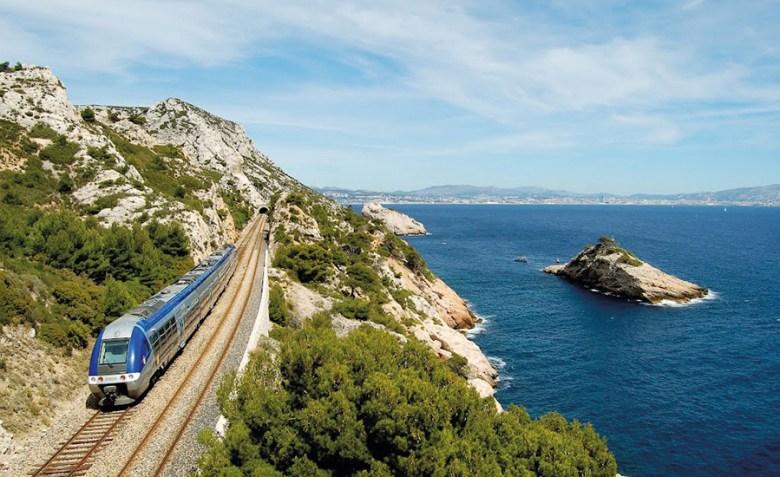 train de la côte bleue marseille