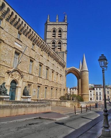 cathédrale st pierre montpellier
