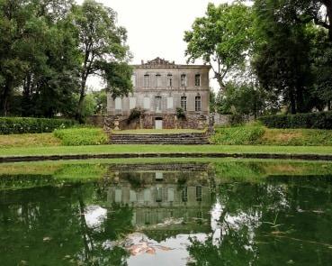 château de l'engarran parc