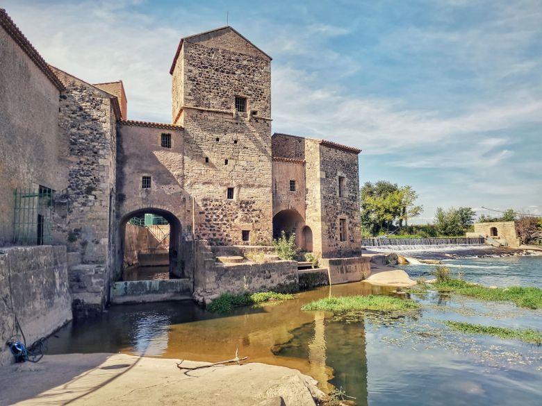 pont romain st thibéry