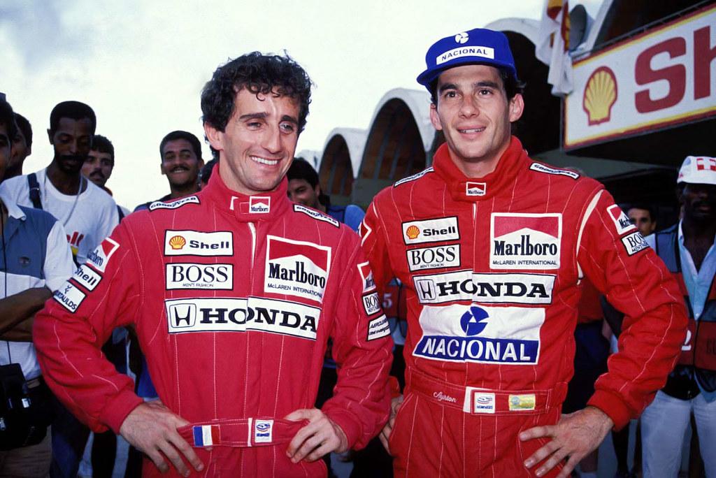 La rivalidad entre Prost y Senna