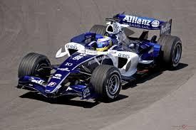 La escudería Williams en el 2006 con su nuevo motor Cosworth