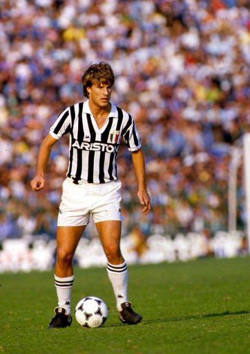 M. Laudrup en Juventus - Liga italiana de los 80