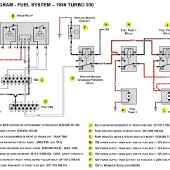 Wiring Diagram For Fuel Pump Relay Lumbar Vertebrae Porsche 944 System Free Engine