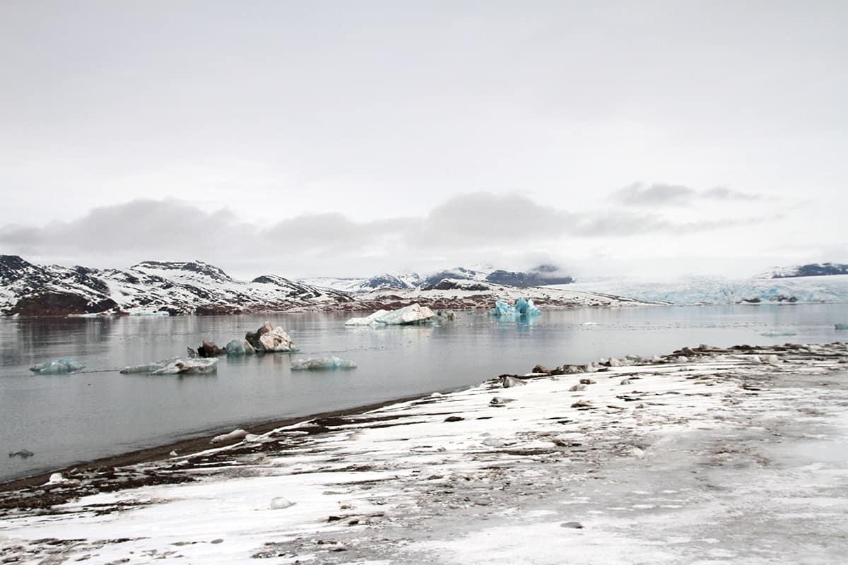 Icebergs in Svalbard