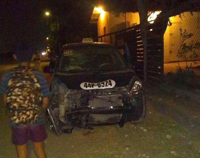 taxi atropella