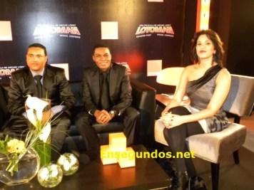 Miguel, Raymond y Pamela