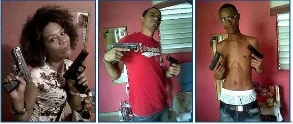 Atrapan delincuentes dominicanos luego de subir fotos a Facebook