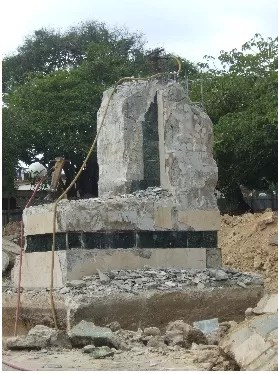 Ayuntamiento de Puerto Plata demolió monumento a la expedición de Luperón
