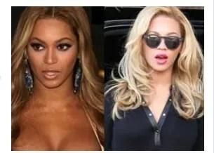 Beyonce usando la crema blanqueadora de Sammy Sosa?
