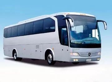 Autobuses pararán el lunes por aumento de combustibles