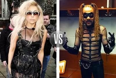 Toño Rosario copiando el estilo de Lady Gaga?