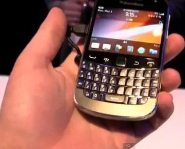 Con las manos en el nuevo Blackberry Bold 9900 (video)