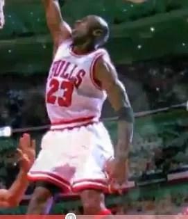 Las mejores 40 jugadas de Michael Jordan (video)