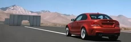 BMW cruzando una pared (video)