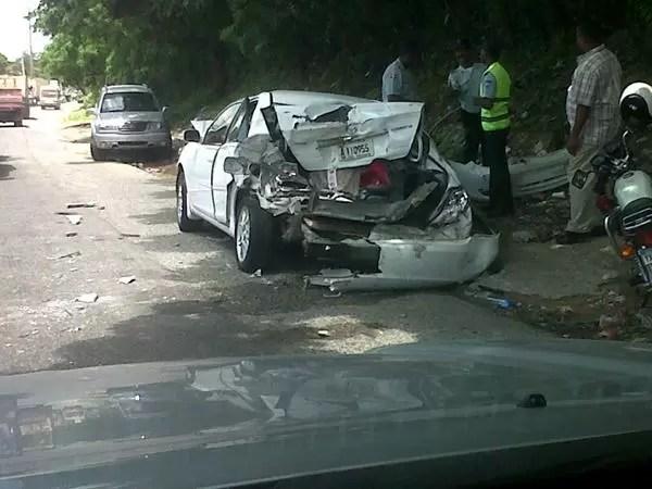 En República Dominicana solo se reportan el 36% de los accidentes de tránsito