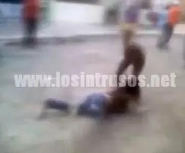 Miren como anda la violencia en nuestro país (video)