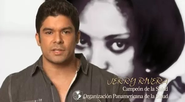 Jerry Rivera les pide a los hombres  poner fin a la violencia contra la mujer