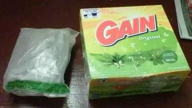 DNCD descubre marihuana empacada en caja de detergente sería enviada a NY