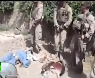 EEUU condena video de militares orinando en cadáveres de talibanes
