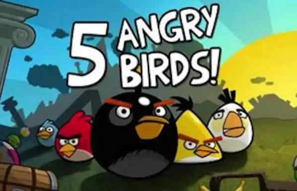 ¿Le gusta el juego Angry Birds? Llegará a Facebook el 14 de febrero