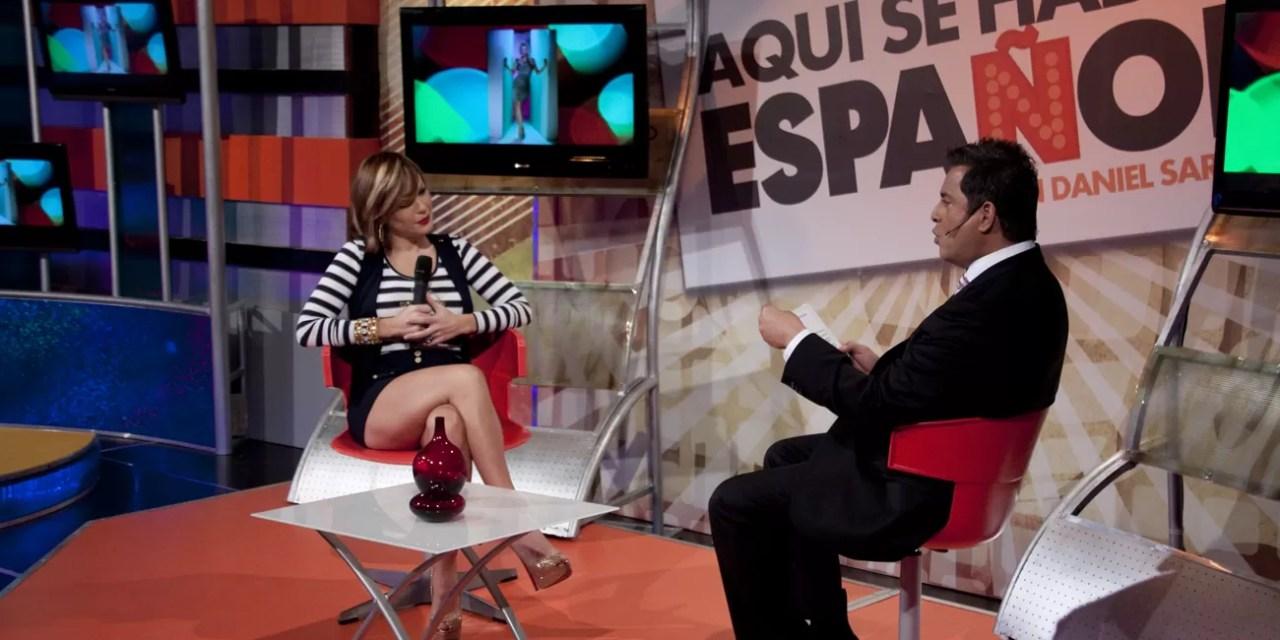 Luz García confiesa que sería un honor tener una relación con Daniel Sarcos