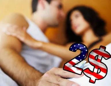El impuesto al sexo como recurso para salvar economía de EE.UU.