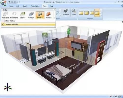 Suite de diseño de interiores 3D gratis