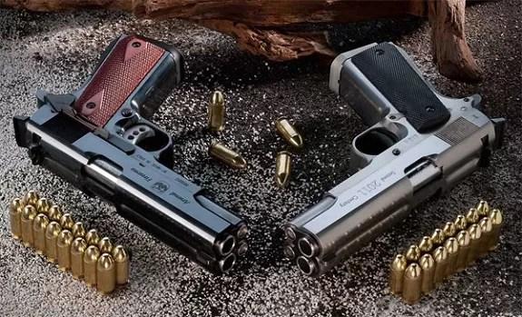 ¿Tiene mala puntería? le presentamos la pistola de cañón doble que dispara dos balas a la vez
