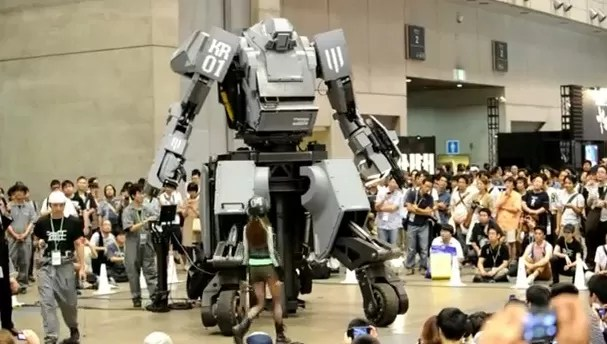 Esto mete miedo: Kuratas, el robot gigante (video)