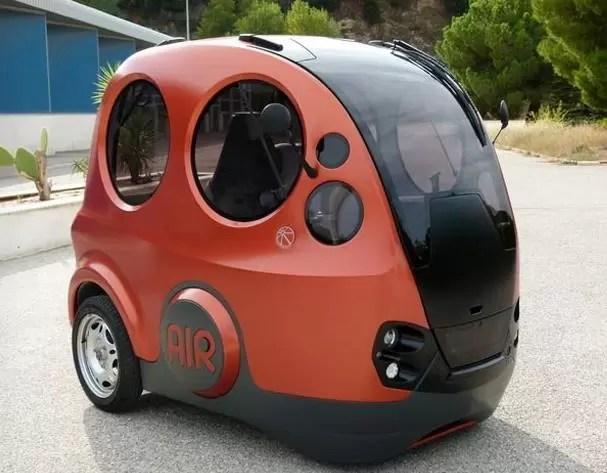 Inventan carro que usa aire como combustible