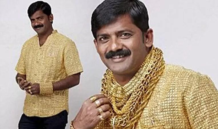 camisa oro