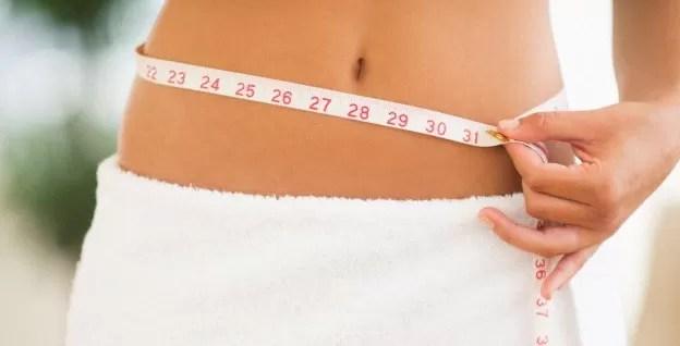 mujer dieta cintura