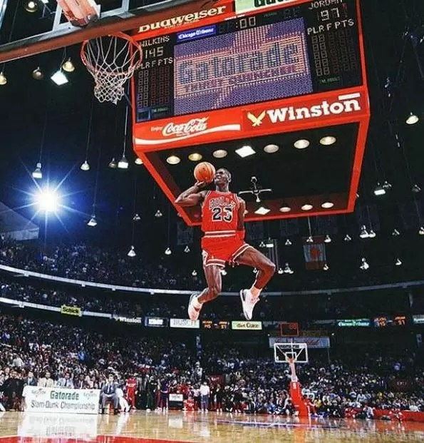 Cómo se sacó la mejor foto de la historia de Michael Jordan