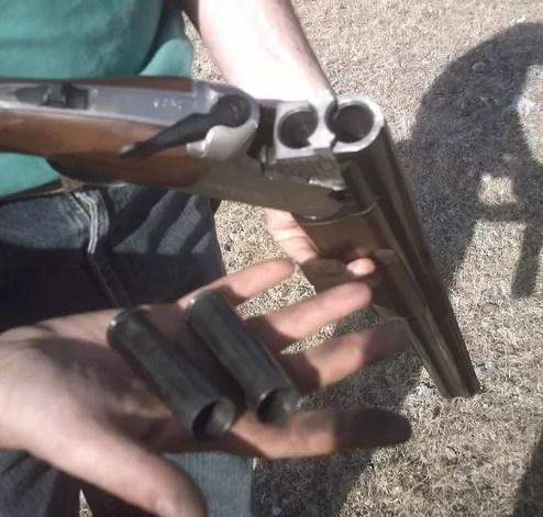 Escopeta  arma