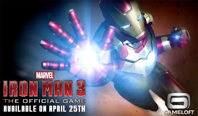 Gameloft presenta nuevo trailer del juego de Iron Man 3