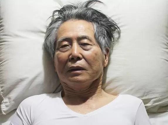 """Ex presidente Fujimori dice ser un """"preso político inocente"""" en Perú"""