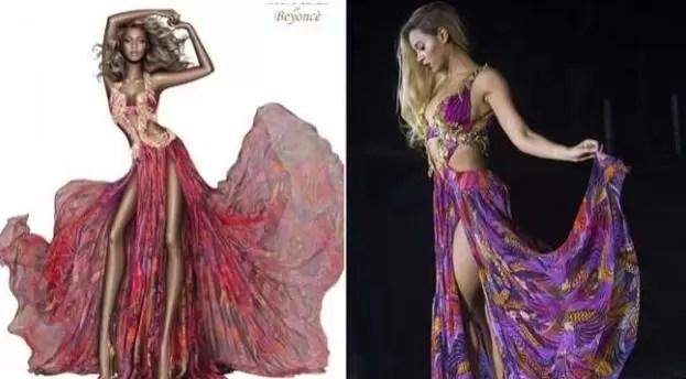 Roberto Cavalli prefiere una Beyoncé raquítica
