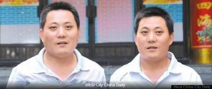 Chino encuentra a su hermano gemelo casualmente luego de 41 años