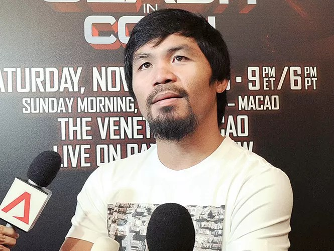 La Iglesia católica de Filipinas apoya a Manny Pacquiao