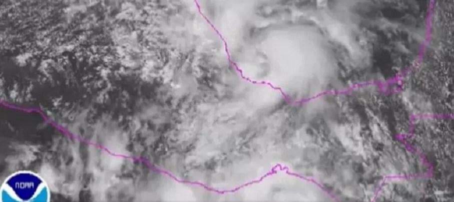 Tormenta tropical 'Fernand' se forma en el Golfo de México
