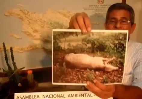 Video de los daños que está ocasionado la Barrick Gold en Cotuí