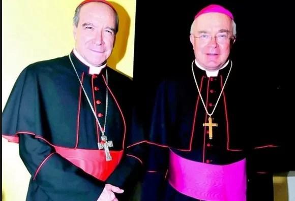 Nicolas de Jesus Lopez Rodriguez y  Josef Wesolowski