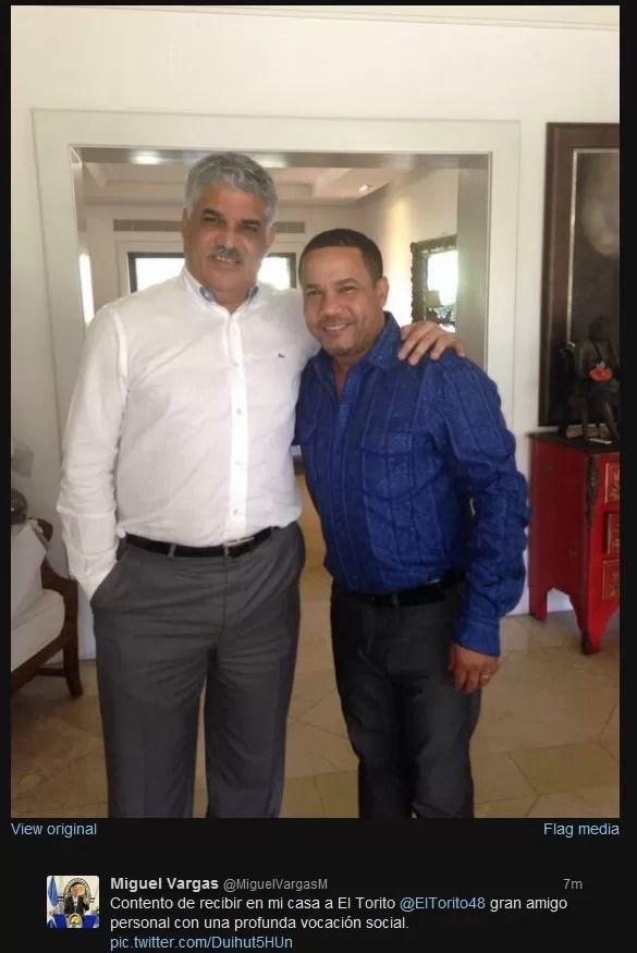 El Torito y Miguel Vargas