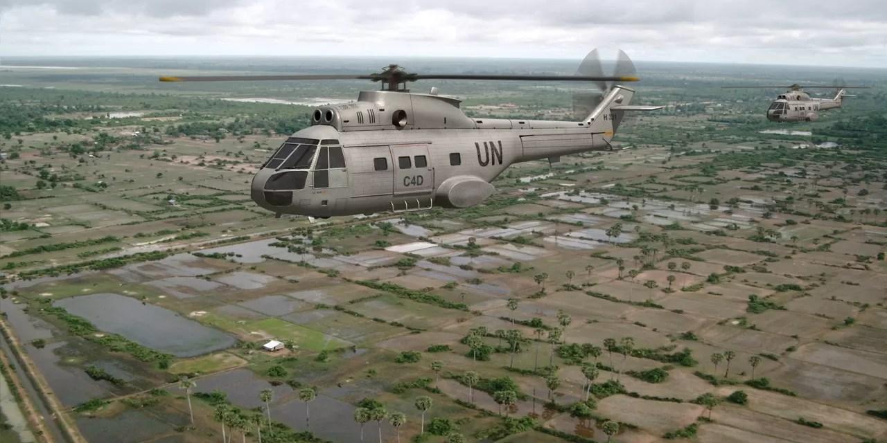 Rebeldes disparan contra helicóptero de la ONU en RDCongo